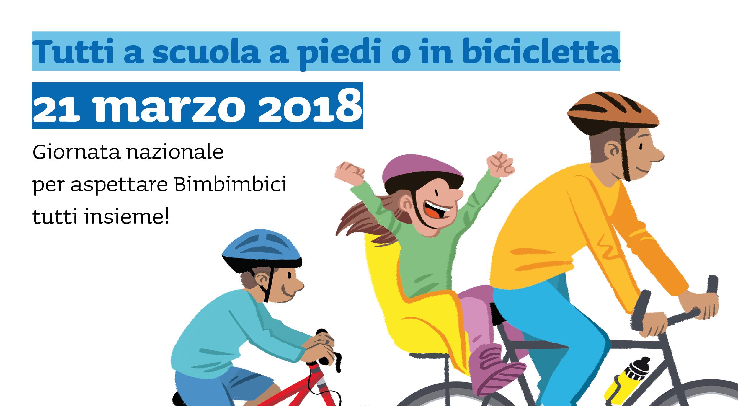 21 marzo a scuola in bici