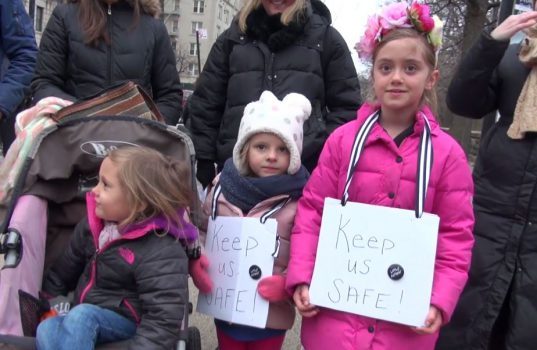 manifestazione New York
