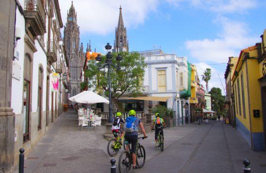 gran canaria in bicicletta arucas