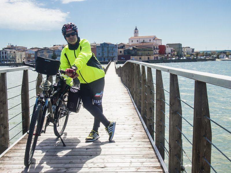 laghi del gargano in bici