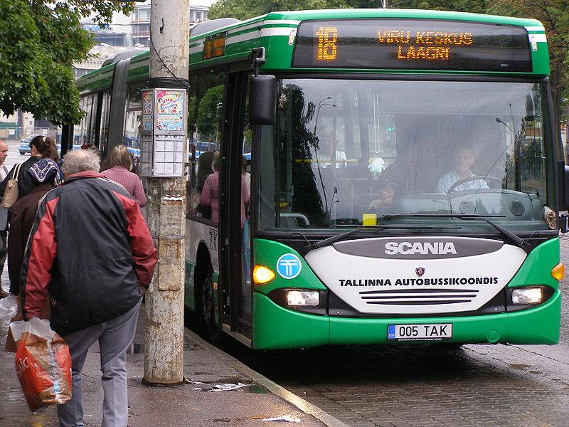 trasporto pubblico tallinn