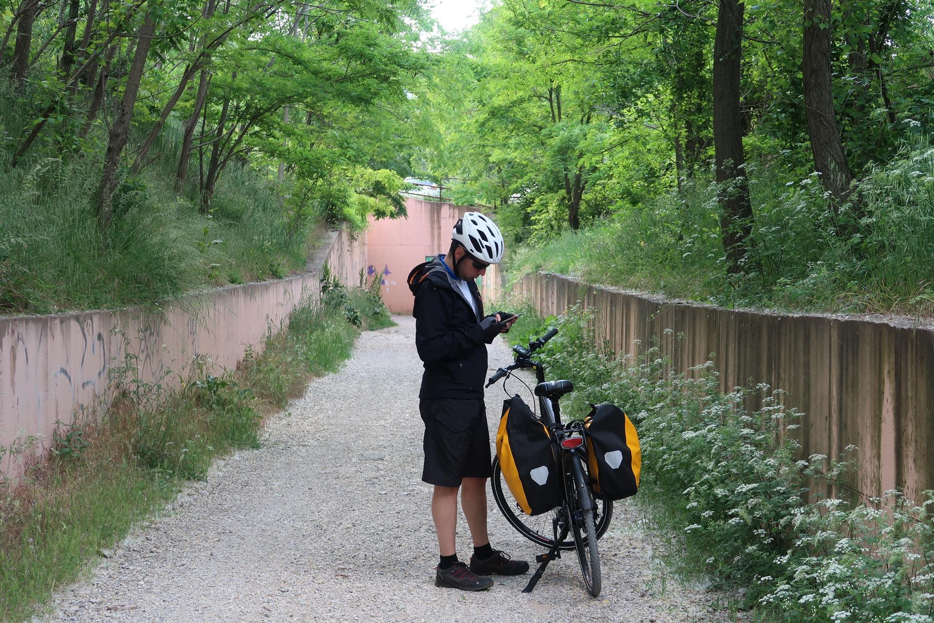 organizzare viaggio bici
