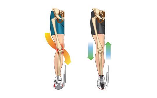 Dolore al ginocchio in bici: come risolvere il problema