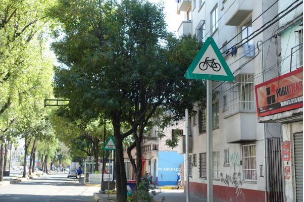 città del messico in bici