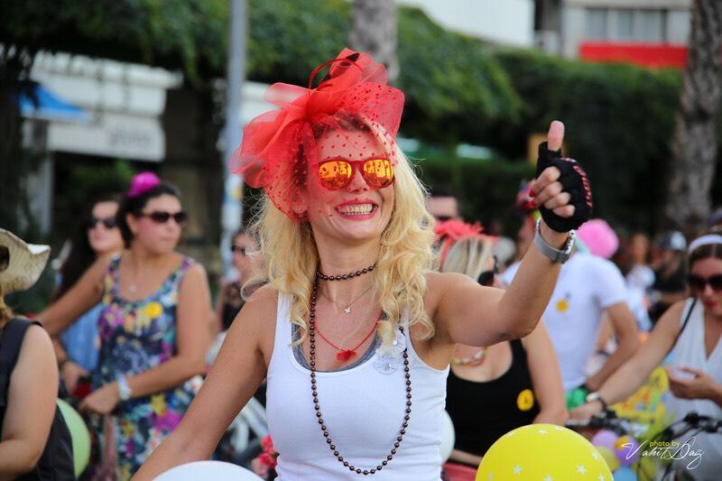 pedalata per donne a Milano