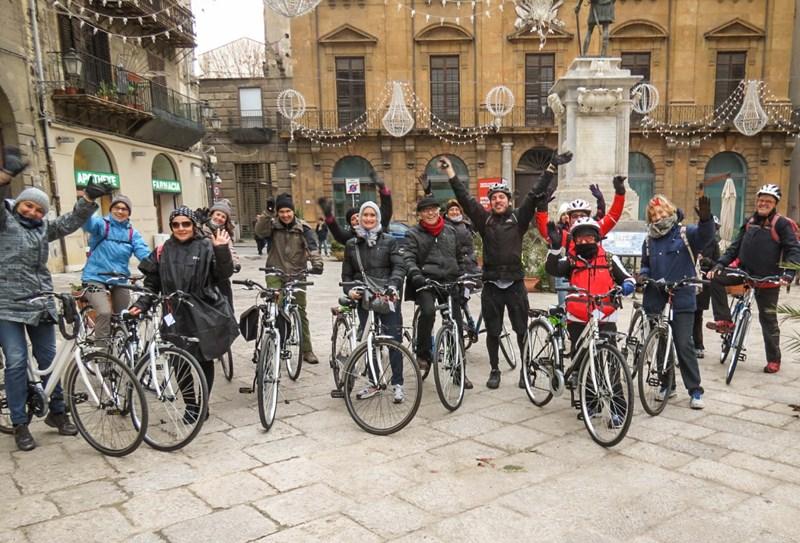 capodanno in bici in sicilia