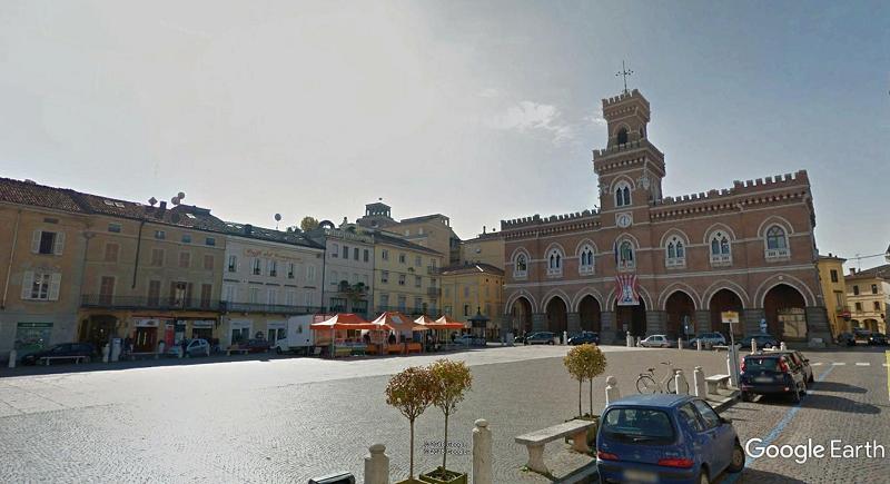 piazza garibaldi, casalmaggiore