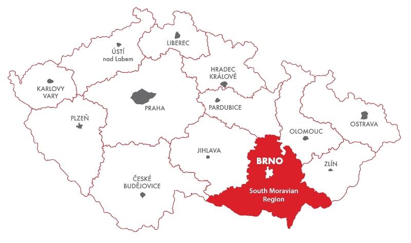 moravia-Map