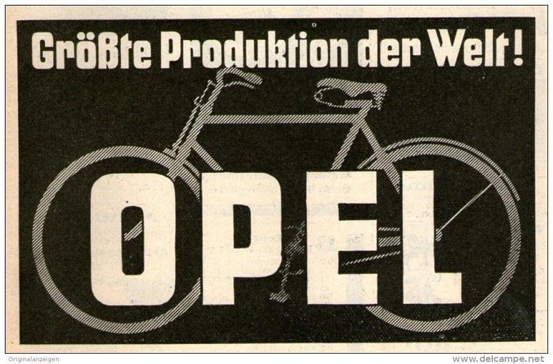 Opel bici