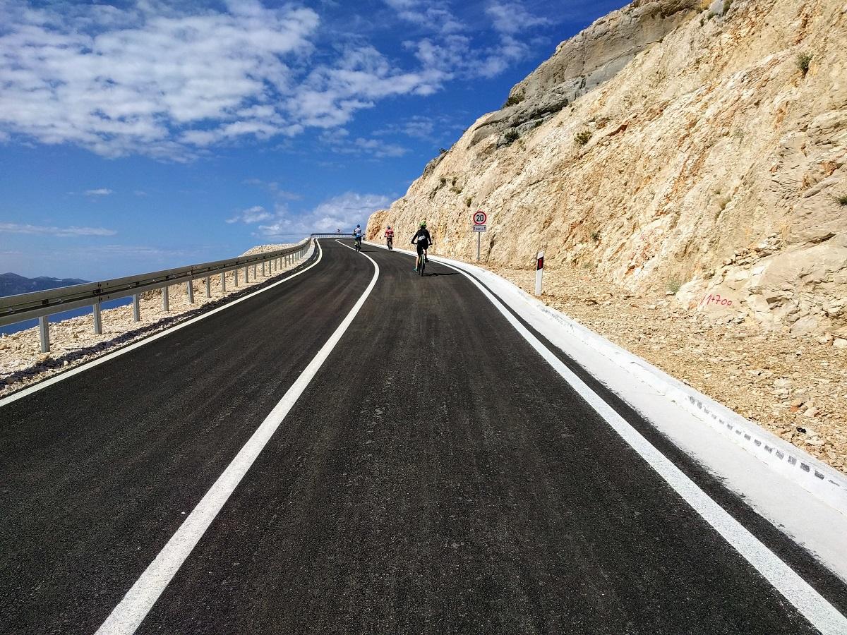 isole della Croazia in bicicletta