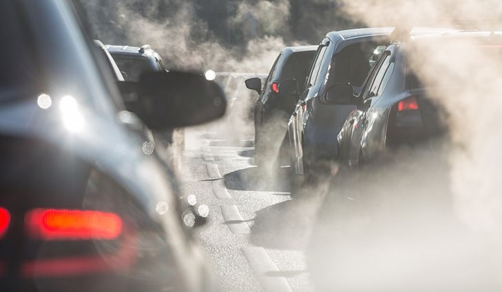 inquinamento smog traffico