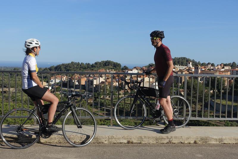 costa daurada in bici