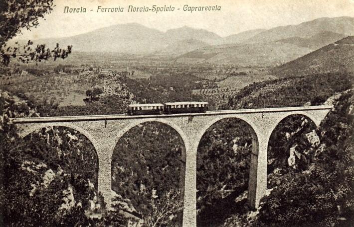 spoleto Norcia vecchia ferrovia