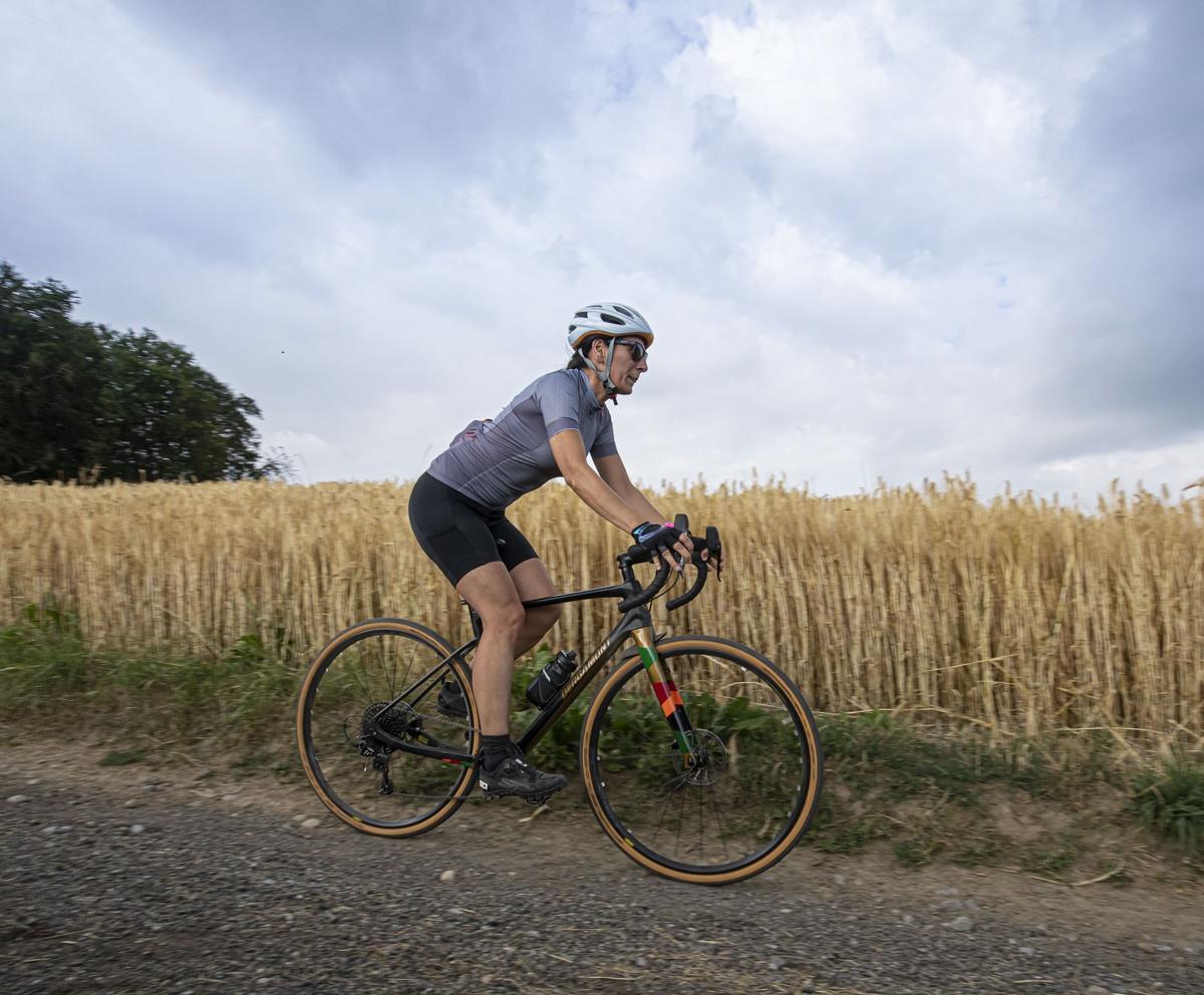 bici con copertoni gravel