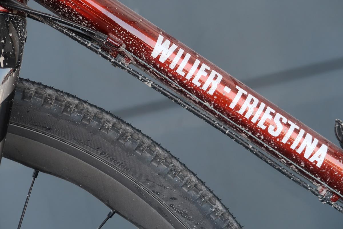 dettaglio bici gravel