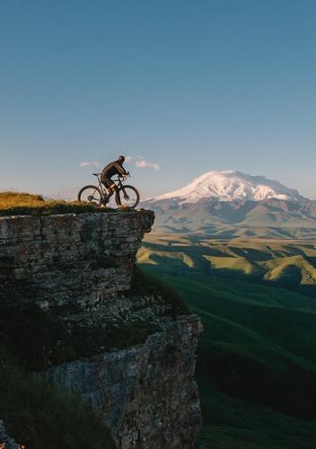 fare fatica in bici