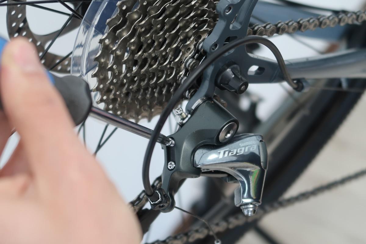 cambio della bici
