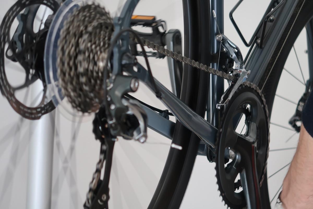 il pacco pignoni della bici rimontato