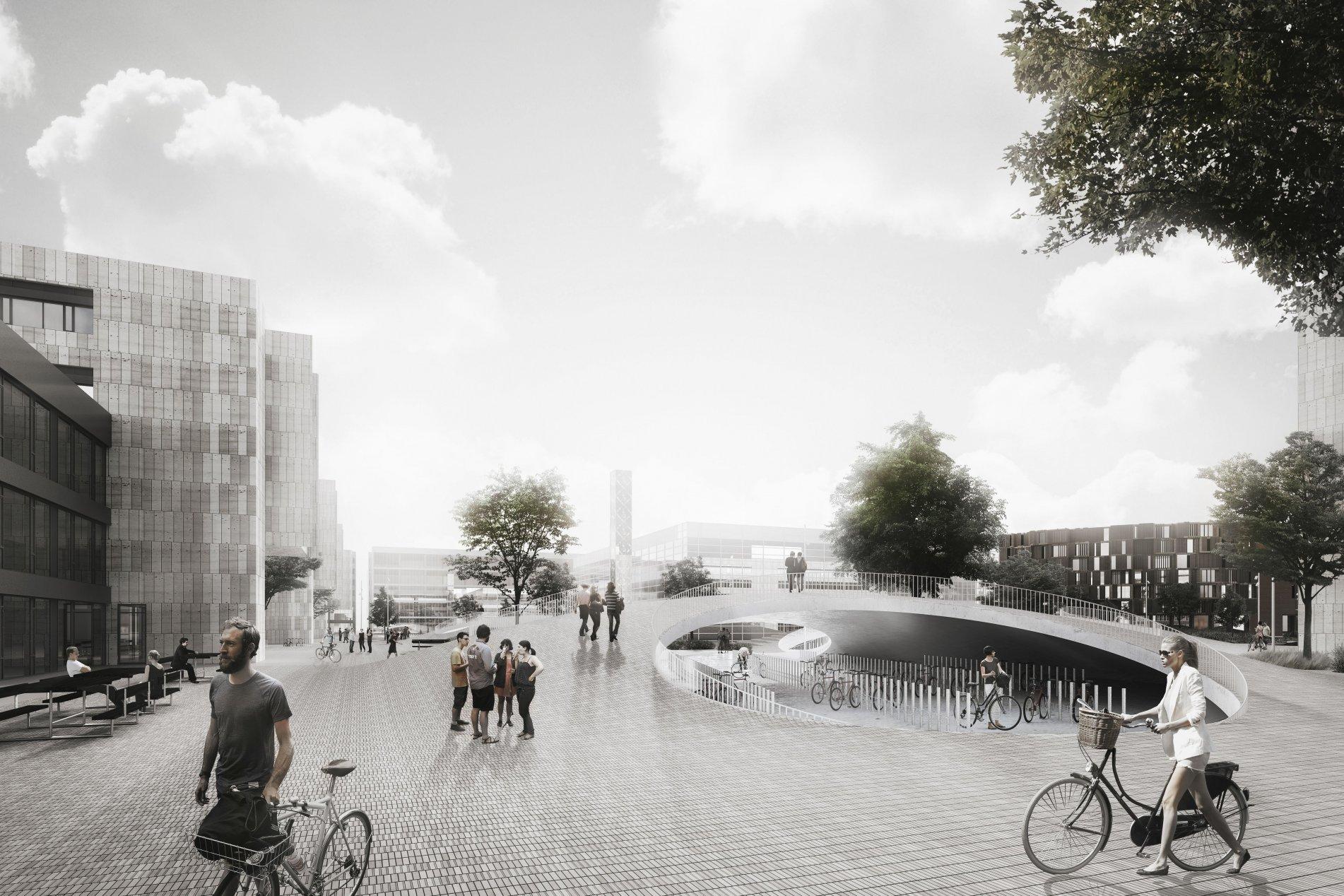copenhagen parcheggio bici