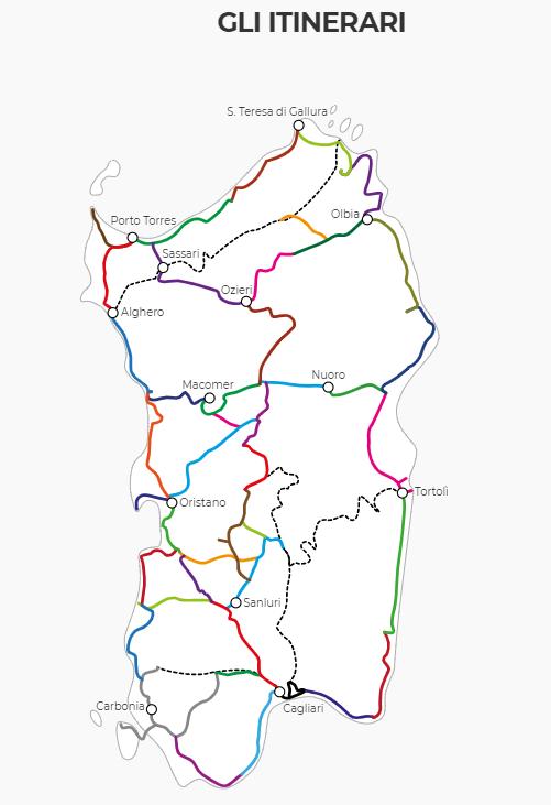 Ciclovia Sardegna