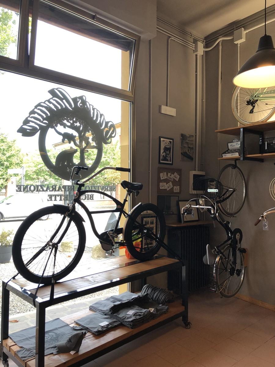 Roberto meccanico bici