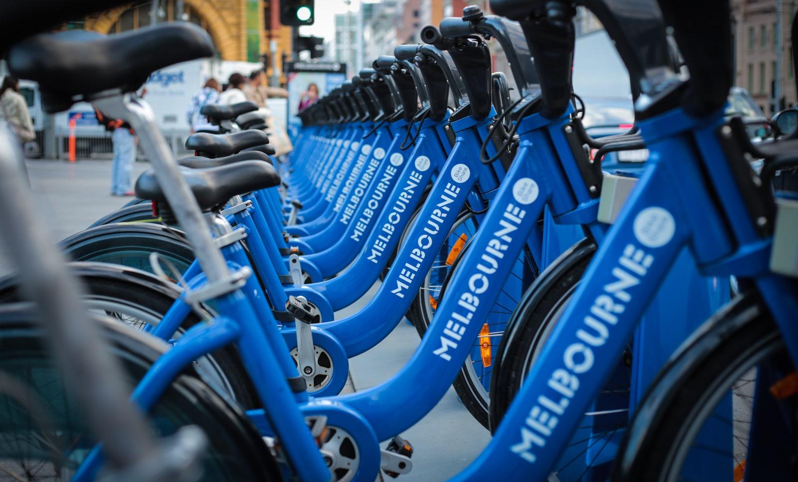 bike sharing melbourne