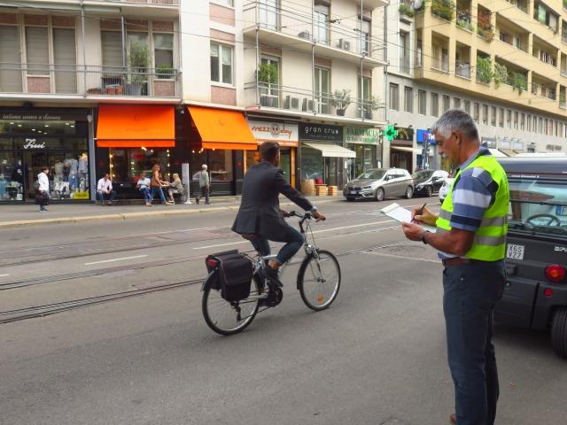 Censimento ciclisti urbani milano