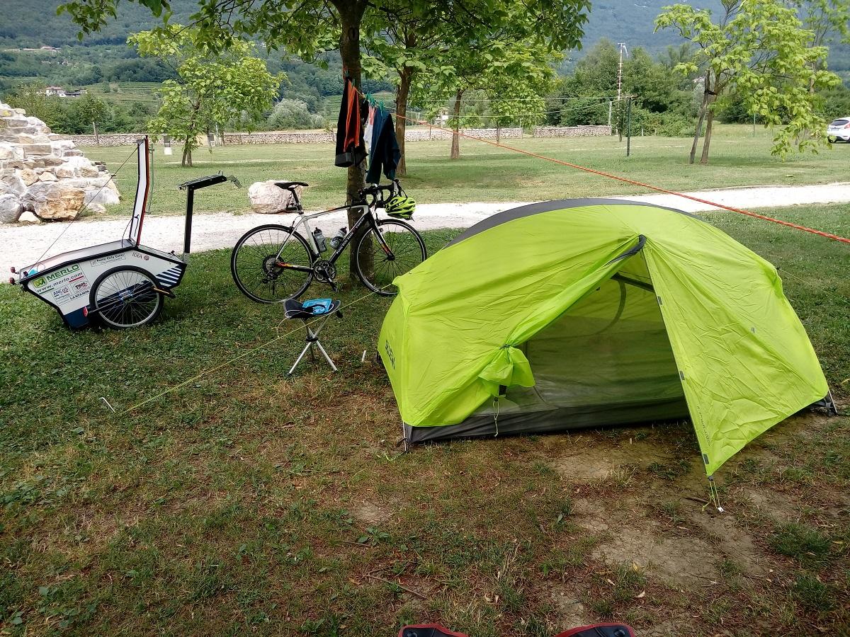 traversata delle Alpi in bicicletta