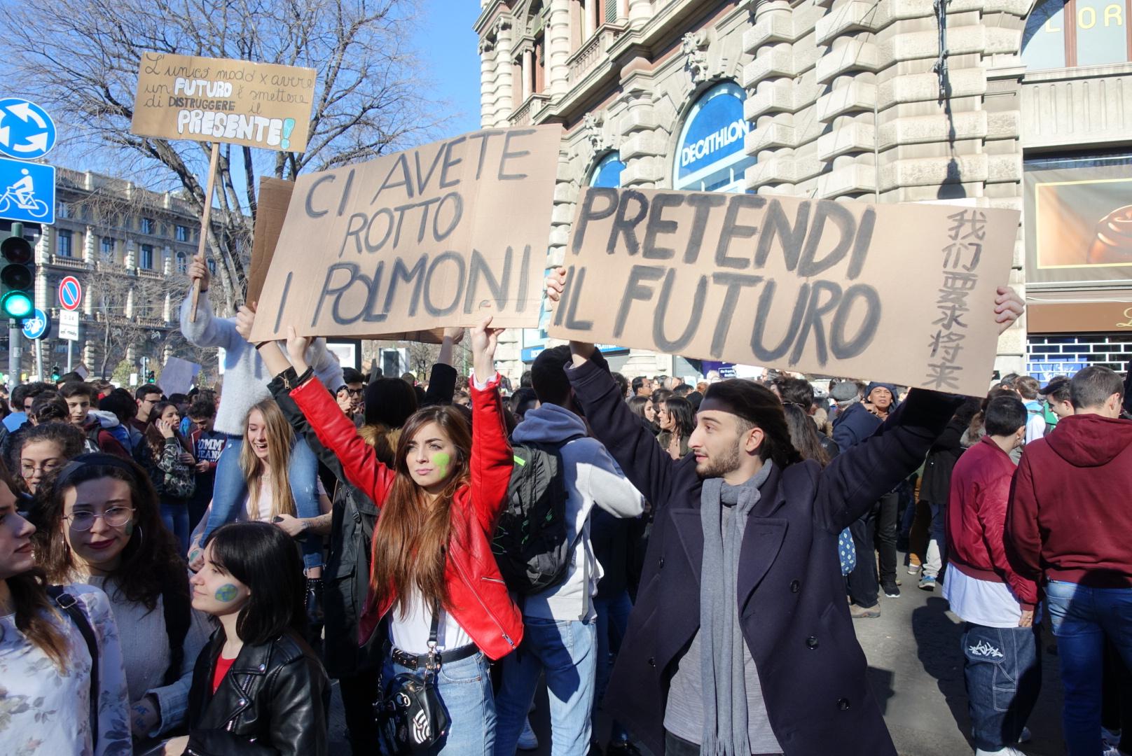 climate-strike-milano