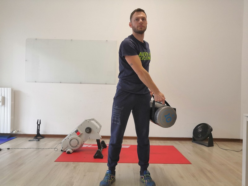 allenamento sandbag