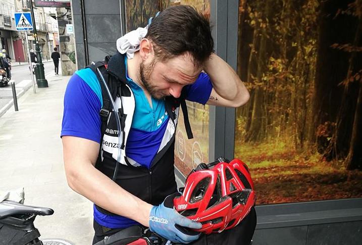 dolori in bici