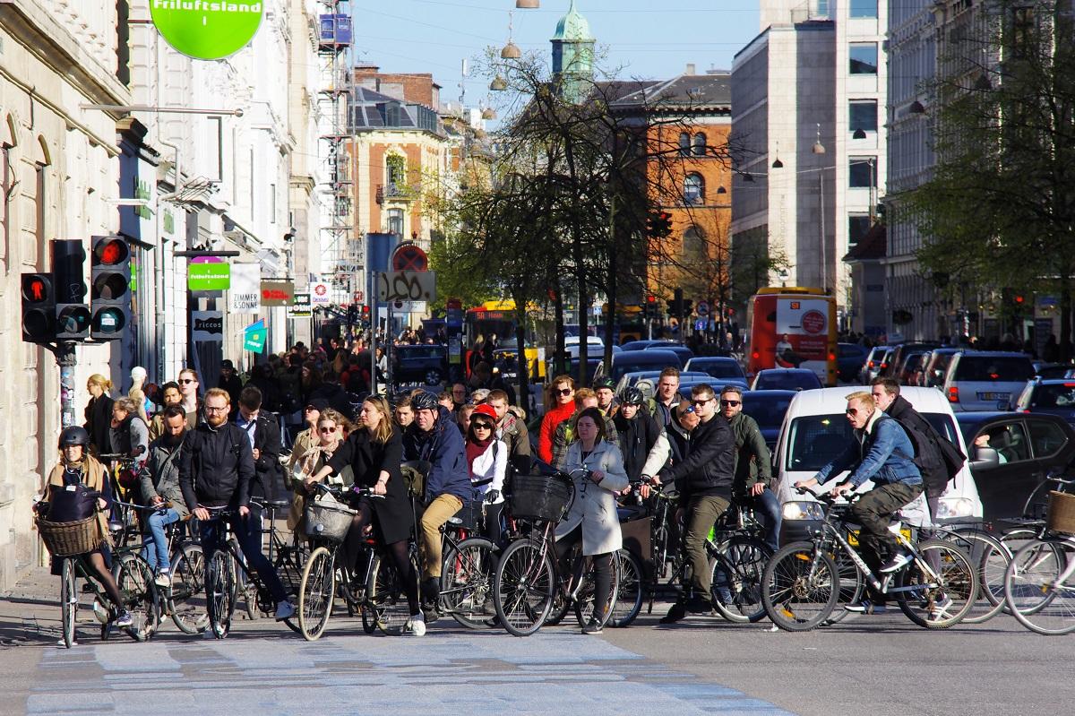 Copenaghen, biciclette
