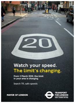 Londra limiti velocità