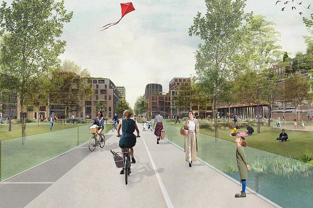Utrecht quartiere senza auto