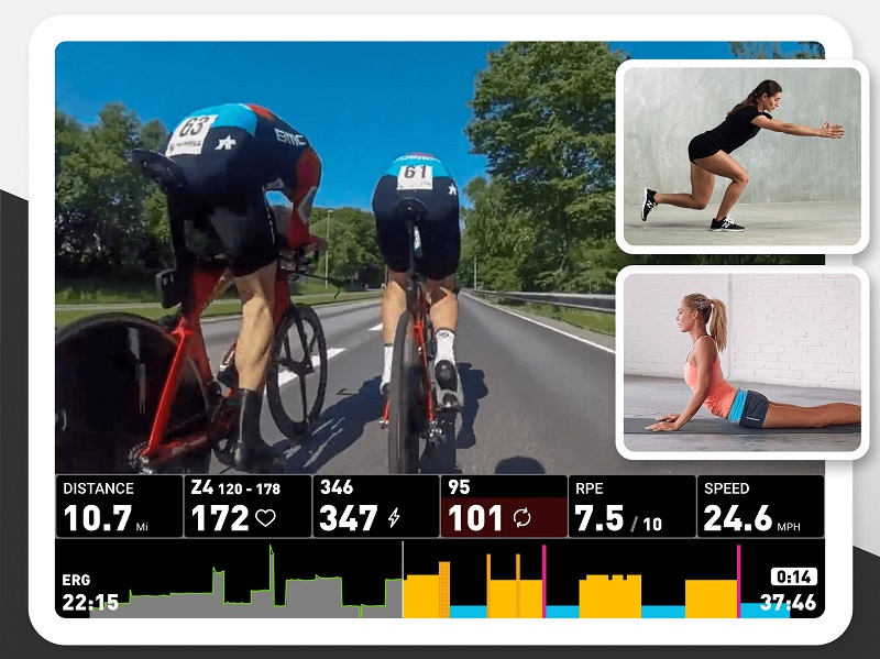 Sufferfest, Workout Player by Dylan Robbins