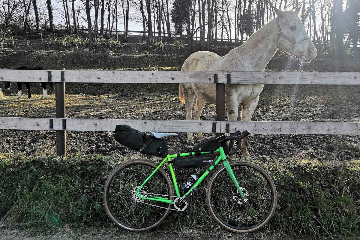 bici in acciaio