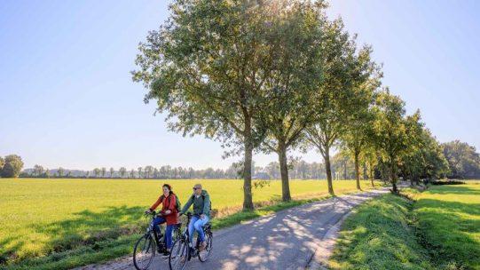 nap route olanda in bici