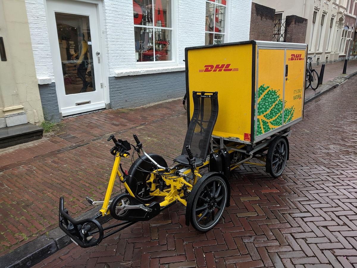 Armadillo by Velove adottato da DHL cargo bike