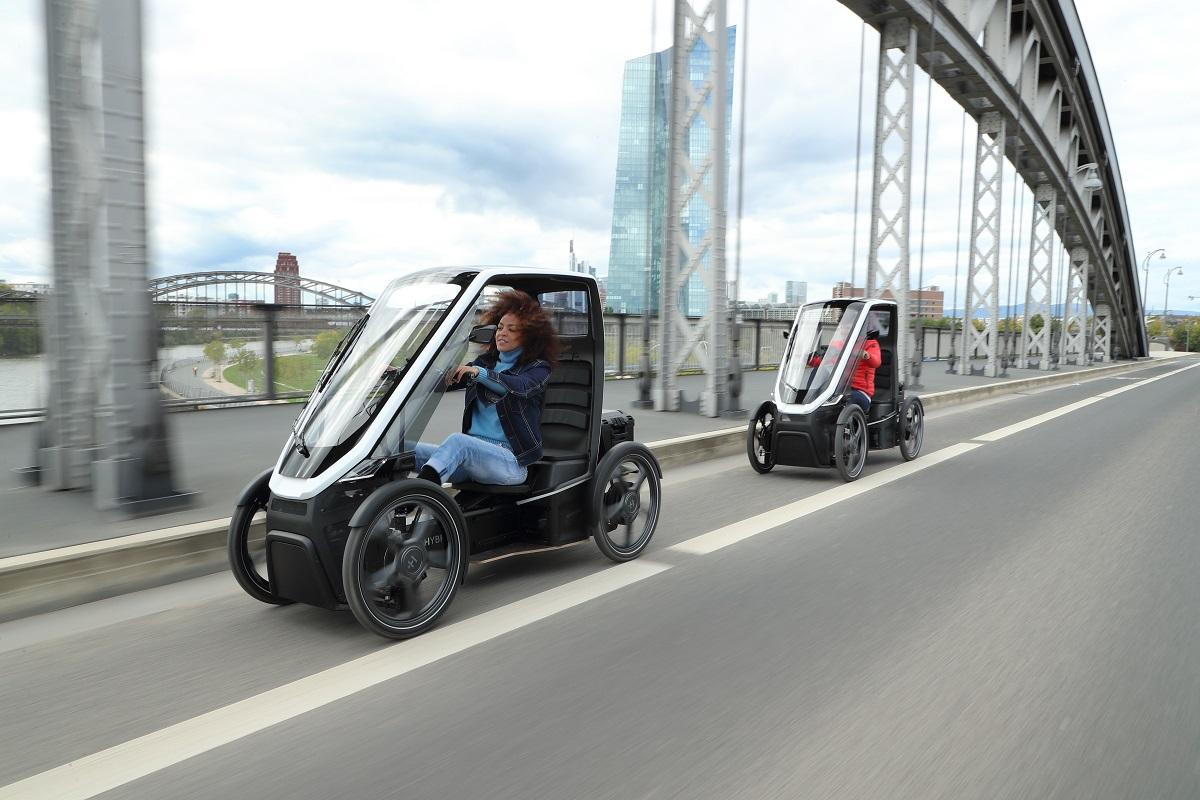 Bio Hybrid versione passeggeri cargo bike