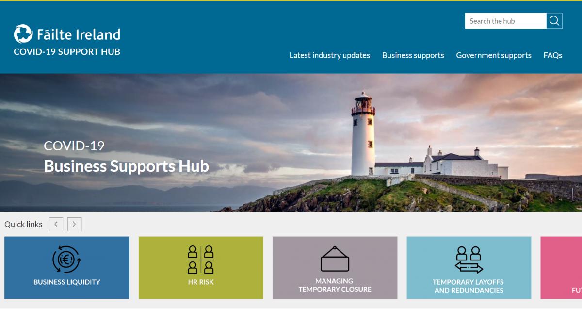 Hub Covid Turismo Irlanda - Lettera a Franceschini