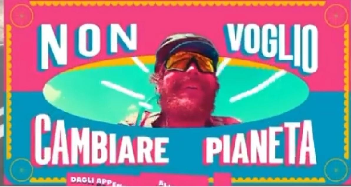"""Non voglio cambiare pianeta"""" di Jovanotti è un piccolo capolavoro ..."""