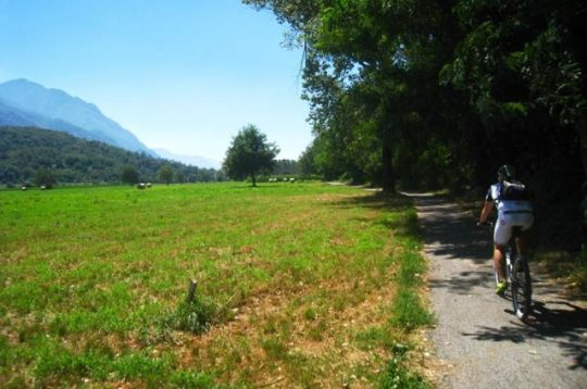 In Valle Camonica in bici