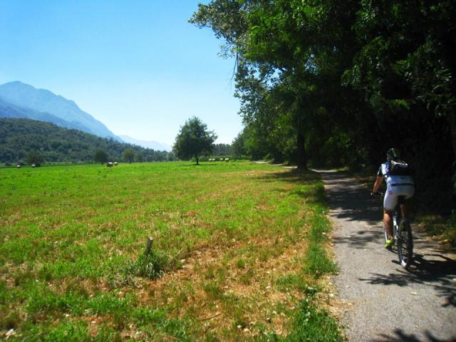 In bici in Valle Camonica