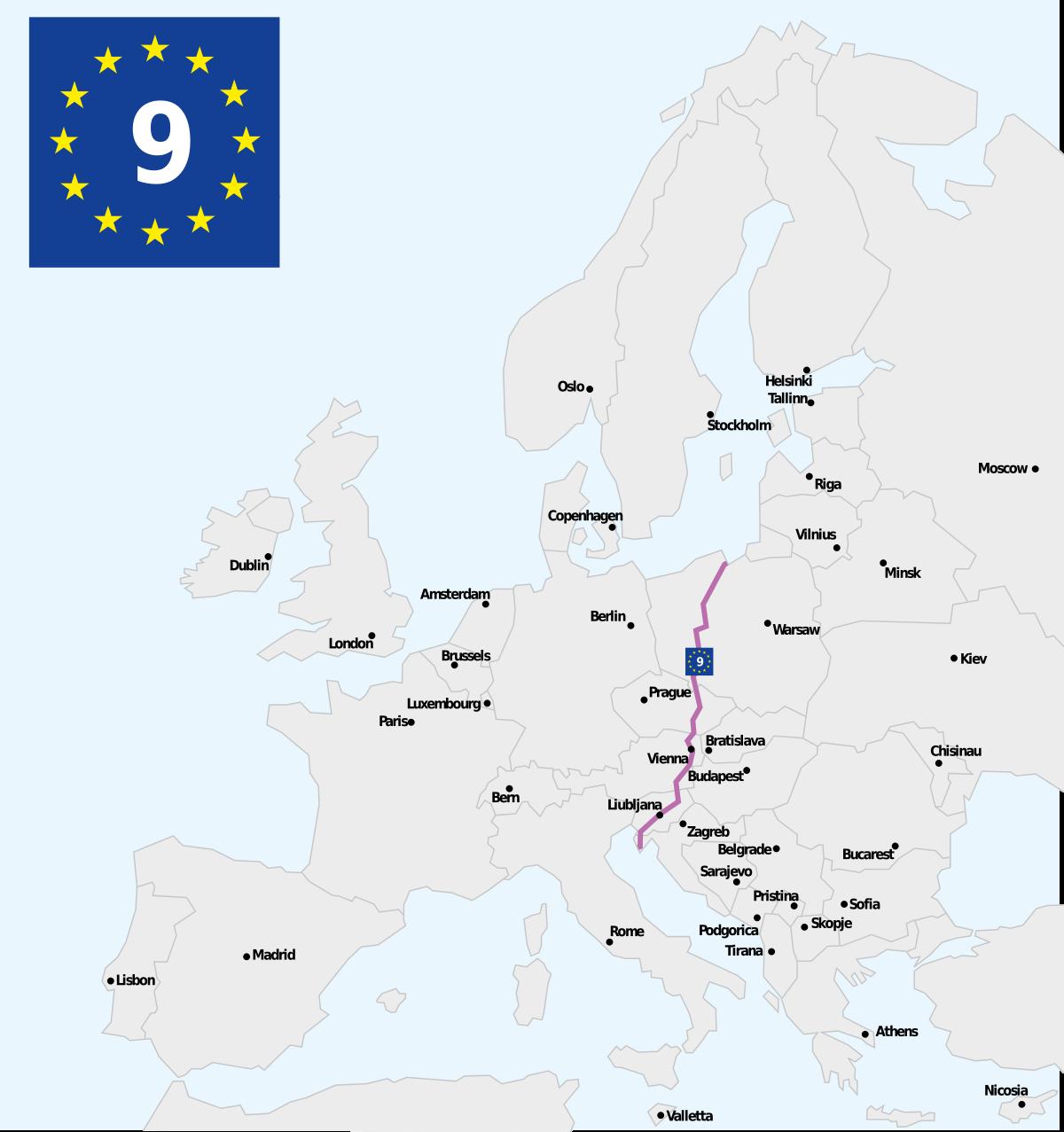 eurovelo 9