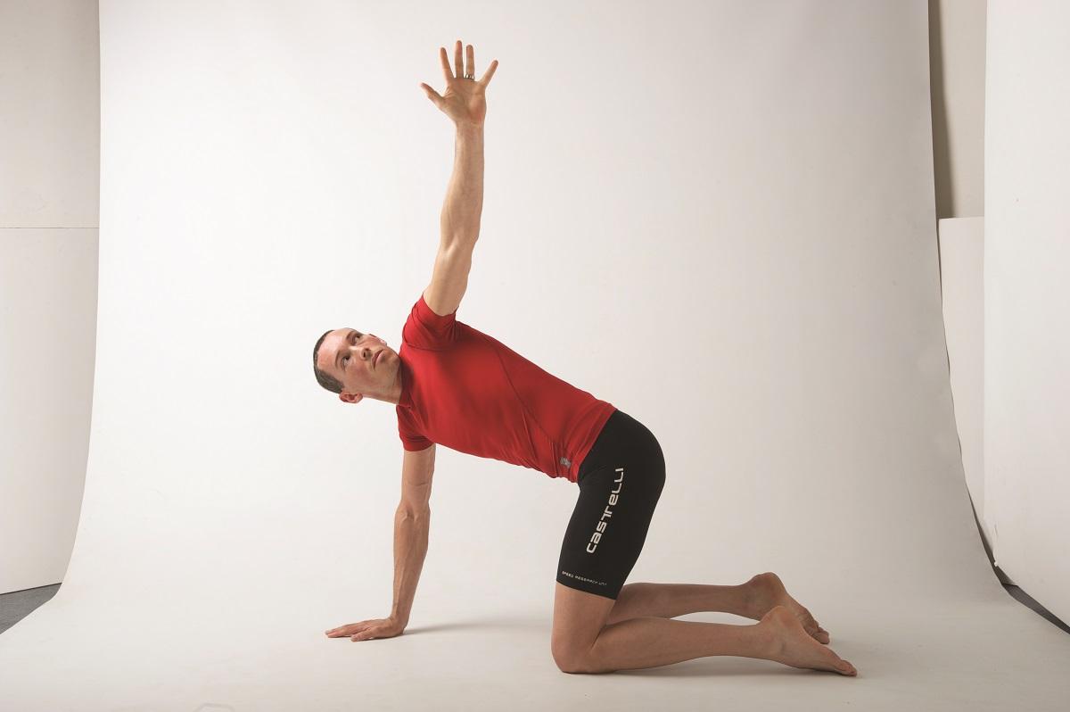 """foto tratta dal libro """"Yoga per ciclisti"""" COPY Ediciclo Editore 2018"""