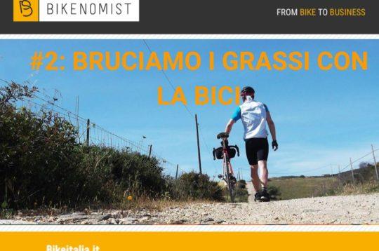 Bruciare i grassi in bici
