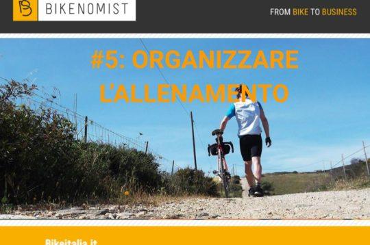 Organizzare l'allenamento in bici
