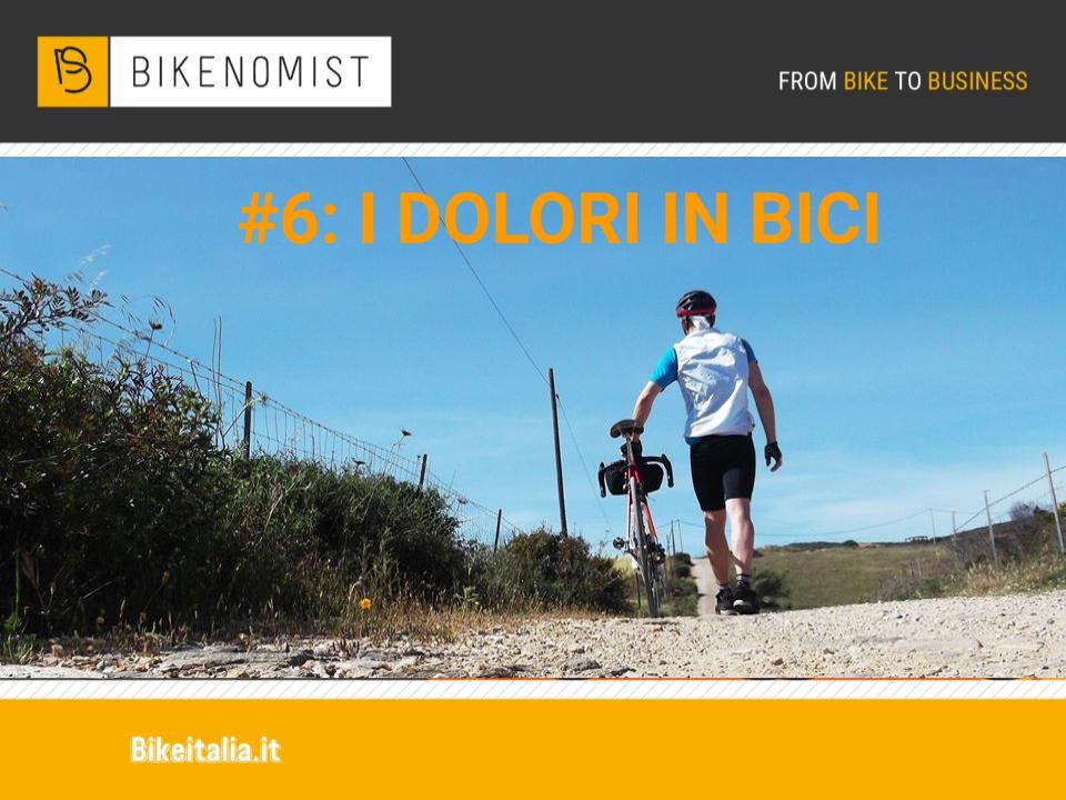 I dolori in bicicletta