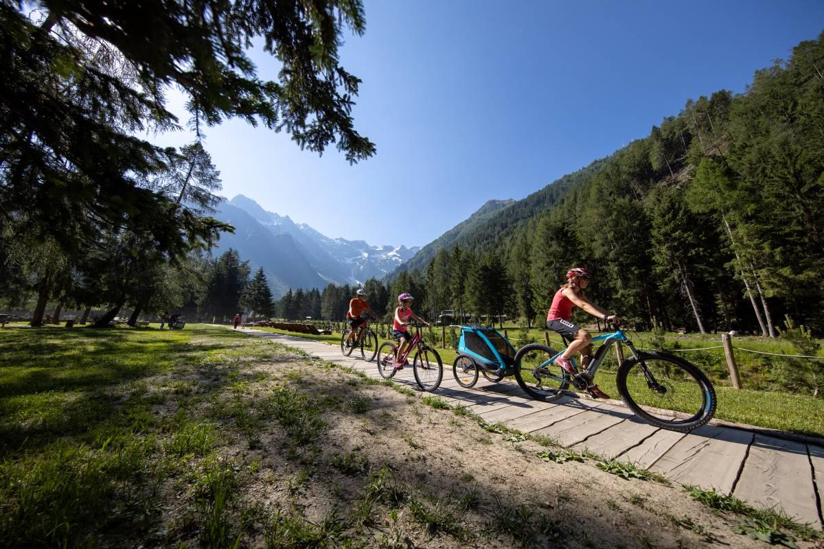 In bici in famiglia, Visit Brescia