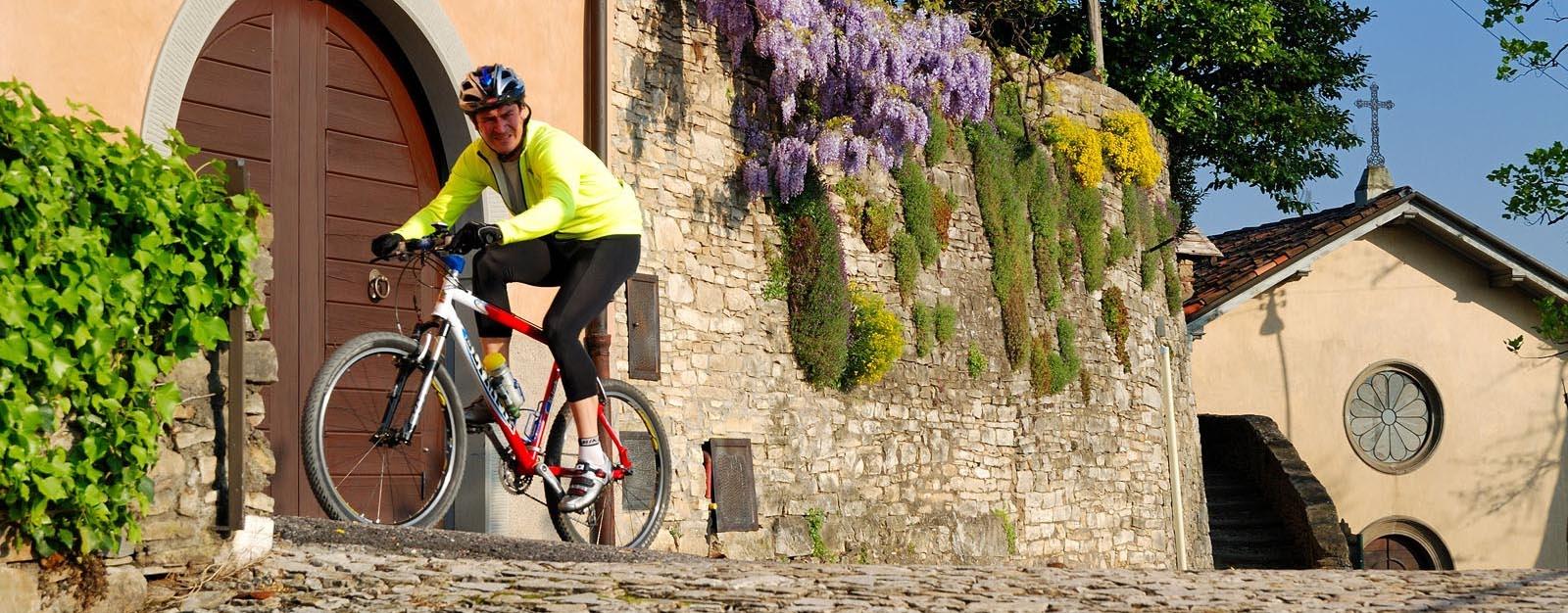 In bici nella provincia di Bergamo - by Visit Bergamo